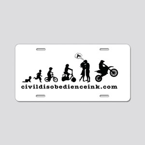Stages of life (male) Aluminum License Plate