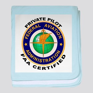 Private Pilot baby blanket