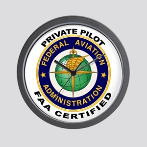 Private Pilot Wall Clock