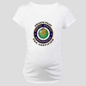 Private Pilot Maternity T-Shirt