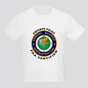 Private Pilot Kids Light T-Shirt