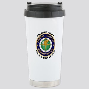 Private Pilot Stainless Steel Travel Mug