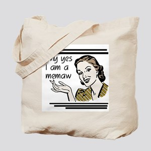 Retro Memaw Tote Bag