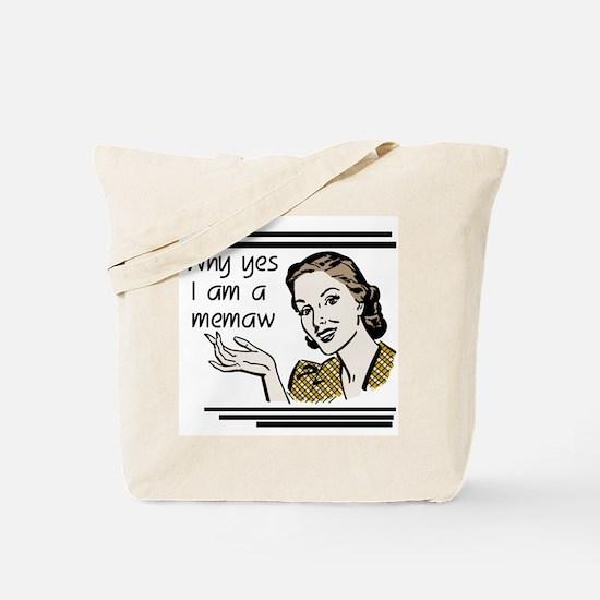 Retro Memaw Tote Bag