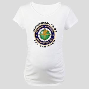 Commercial Pilot Maternity T-Shirt