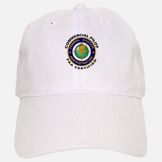 Commercial Pilot Baseball Baseball Cap