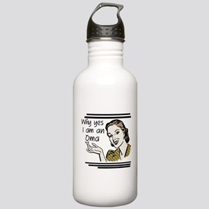 Retro Oma Stainless Water Bottle 1.0L