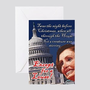 Nancy Pelosi Holiday Greeting Card