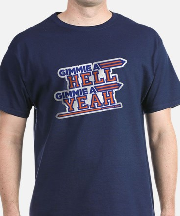 Blue Mountain State Gimme Hell Yeah T-Shirt