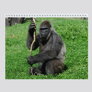 Grand Gorillas Wall Calendar