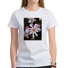 .pink star magnolia. Women's T-Shirt