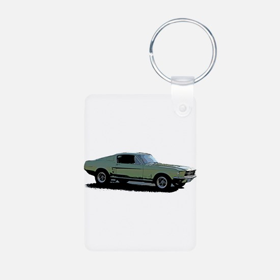 67 Mustang 4 Keychains