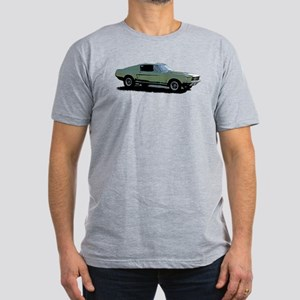67 Mustang 4 Men's Fitted T-Shirt (dark)