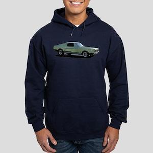 67 Mustang 4 Hoodie (dark)