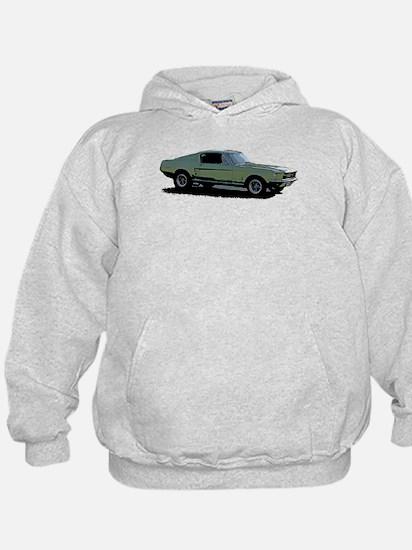 67 Mustang 4 Hoodie