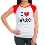 I heart waldo Women's Cap Sleeve T-Shirt