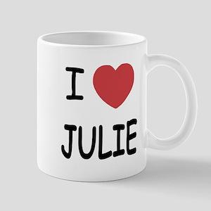 I heart julie Mug