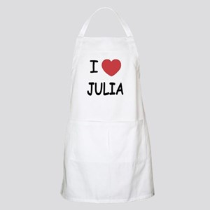 I heart julia Apron