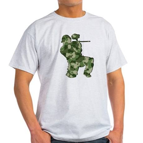 Paintball, Camo Light T-Shirt