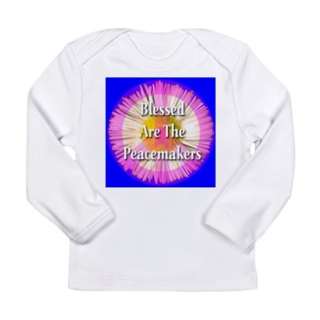 Blessed Are The Peacemakers F Long Sleeve Infant T