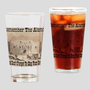 Remember The Alamo! Hug Your Drinking Glass