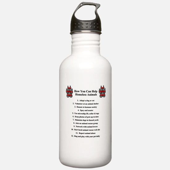 How You Can Help Save Homeles Water Bottle