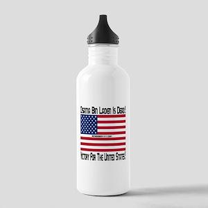 Osama bin Laden Is Dead Stainless Water Bottle 1.0