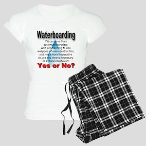 Waterboarding Yes or No? Women's Light Pajamas