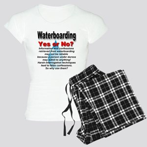 Waterboarding Yes or No? Women's Light Pajamas