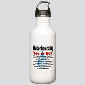 Waterboarding Yes or No? Stainless Water Bottle 1.