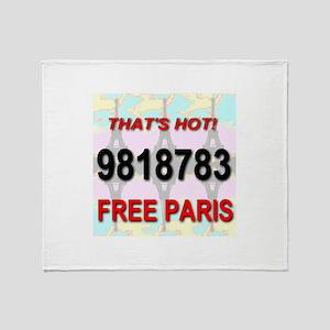 That's Hot! 9818783 Free Pari Throw Blanket