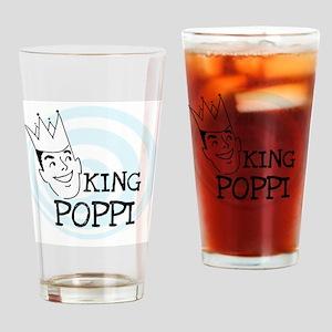 King Poppi Drinking Glass