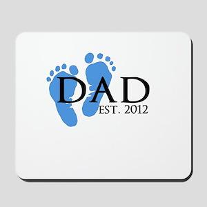 Dad Est 2012 Mousepad