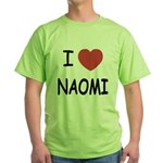 I heart naomi Green T-Shirt