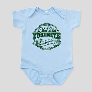 Yosemite Old Circle Green Infant Bodysuit