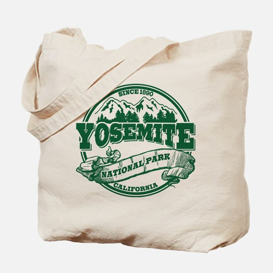 Yosemite Old Circle Green Tote Bag