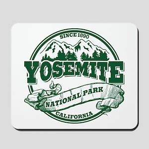 Yosemite Old Circle Green Mousepad