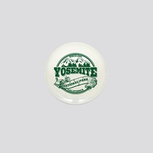 Yosemite Old Circle Green Mini Button