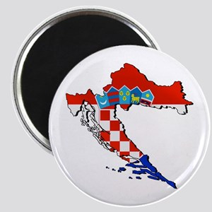 Croatia Map Magnet