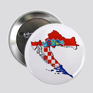 "Croatia Map 2.25"" Button"