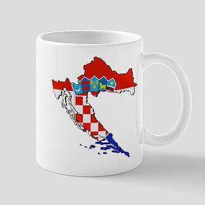 Croatia Map Mug