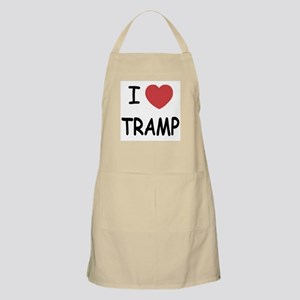I heart tramp Apron