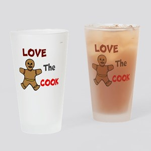 OYOOS Love the Cook design Drinking Glass