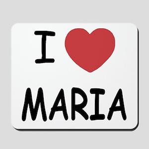 I heart maria Mousepad