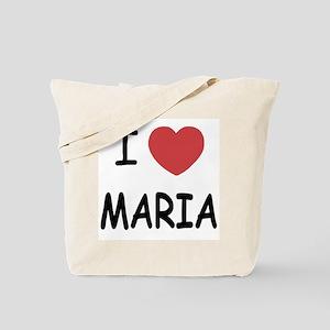 I heart maria Tote Bag
