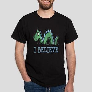I Believe in Sea Monsters Dark T-Shirt