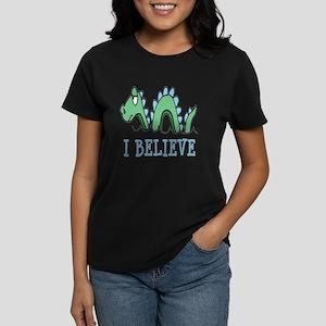 I Believe in Sea Monsters Women's Dark T-Shirt