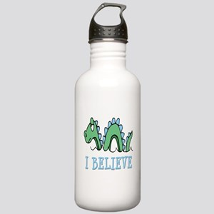 I Believe in Sea Monsters Stainless Water Bottle 1