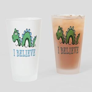 I Believe in Sea Monsters Drinking Glass