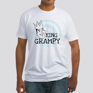 King Grampy Fitted T-Shirt
